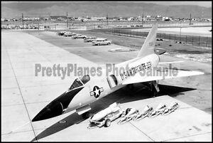 USAF-Convair-F-106-Delta-Dart-On-Display-8x12-Aircraft-Photos