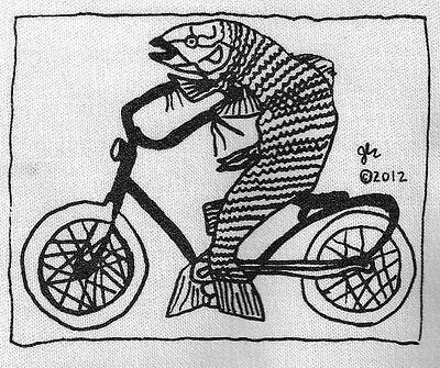 DIY Political Crust Anarcho Peace Punk patch feminist bicycle bike