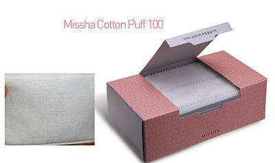 korea missha etude facial cotton pad pure cotton puff silky cosmetic remover pad