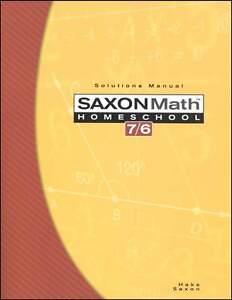 Saxon-Math-76-4th-Edition-Solutions-Teachers-Manual-Grade-6-NEW