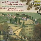 Lost Music of Early America: Music of the Moravians (1998)