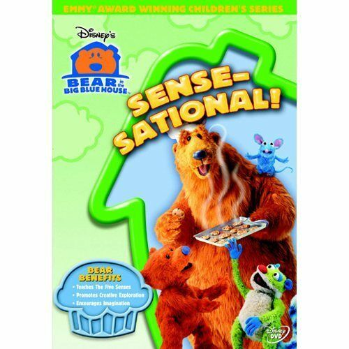 Bear In The Big Blue House - Sense-Sational (DVD, 2005)