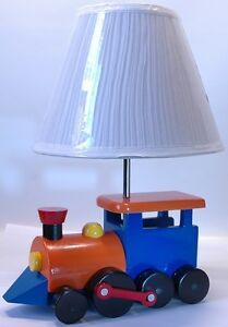 Childrens-Train-Lamp-Great-for-any-Kids-Room-or-in-the-Babys-Nursery