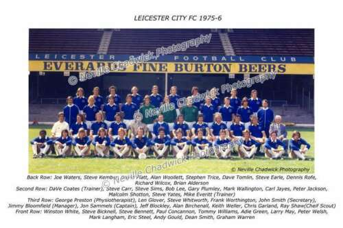 Leicester City Team of 1975-76 Photo