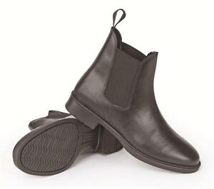 Shires-Wessex-Leather-Jodhpur-Short-Boot-Sizes-Euro-28-46-Black-Brown-Jodphur