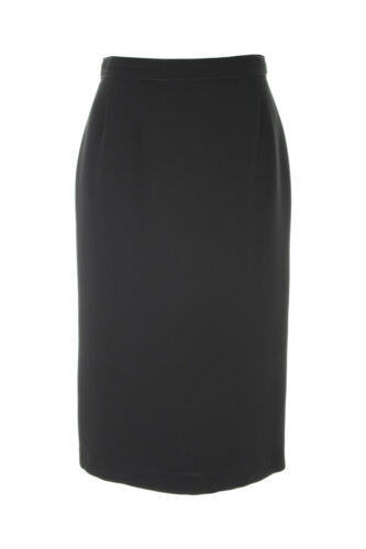 Busy Black Pencil Skirt