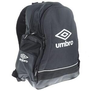 Umbro-FW-Medium-Black-White-Backpack-NEW