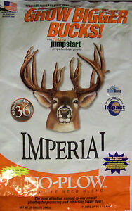 10-lb-WHITETAIL-IMPERIAL-NO-PLOW-2012-New-Improved-Deer-Plot-SEEDS-Clover-Rape