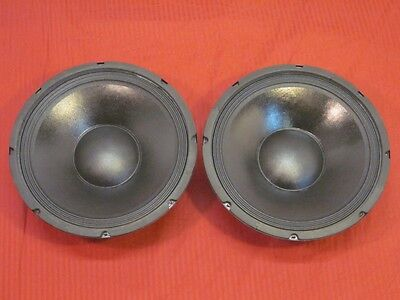 """NEW (2) 12"""" Woofer Speakers.Guitar.Pro Audio.8 ohm.DJ.PAIR.Replacements.Bass."""
