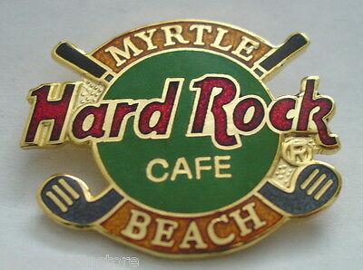 Myrtle Beach South Carolina ~ GOLF CLUB LOGO ~ Hard Rock Cafe Pin ~ PROTOTYPE !