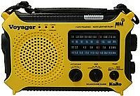 Kaito-KA500-Voyager-Emer-Radio-Solar-Crank-AC-Adapt-Cell-Phone-Charger-Yellow