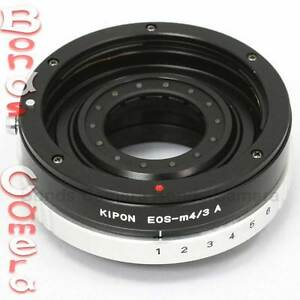 Kipon-Canon-EOS-EF-mount-lens-to-Micro-4-3-M-43-Adapter-with-Build-in-Aperture
