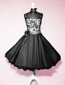 abendkleid spitze schwarz kleid abiball konfirmationskleid. Black Bedroom Furniture Sets. Home Design Ideas