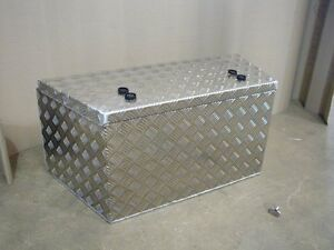 Image Is Loading Aluminium Trailer A Frame Storage Box Tongue Tapered