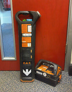 Radiodetection-CAT-MK2-Genny-Cable-Locator-Calibrated-Excellent-Condition