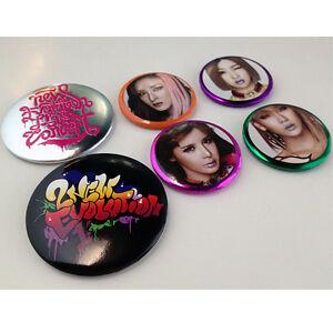 YG-eshop-2NE1-New-Evolution-Global-Tour-Pin-Button-Badge-6-EA-Set-K-POP-Goods