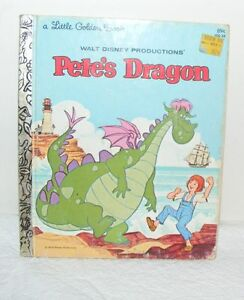 Walt-Disney-Productions-Petes-Dragon-A-Little-Golden-Book