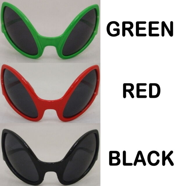 Alien Fancy Dress Glasses Alien Eyes Alian ET Bug Sunglasses Brand New