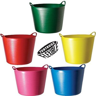 Genuine Flexible TubTrug 42L Flexi Tub Trug Horse Feeding Bucket