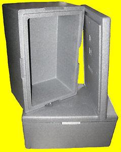 30 l styroporbox thermobox w rmebox w rmebeh lter isolierbox k hlbox brutkasten ebay. Black Bedroom Furniture Sets. Home Design Ideas