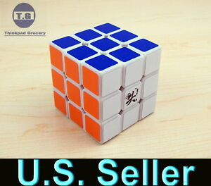 new-Speed-Cube-Puzzle-with-Extra-Sticker-Dayan-5-ZhanChi-3x3-3x3x3-White