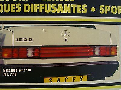 Mercedes W201 190E 2.3/5-16 AMG 3.2 Brabus 3.6 Trunk Panel Tail Light Heckblende
