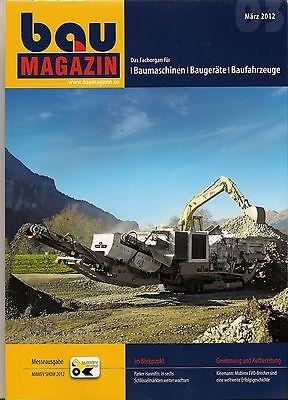 Herzhaft Baumagazin März 2012 Fachbücher messeausgabe Mawev Show 2012 Business & Industrie