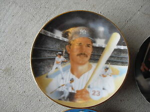 1987-Sports-Impressions-Don-Mattingly-Collector-Plate