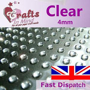 195-x-4mm-Clear-Quality-Rhinestone-Diamante-Gems-Diamonte-4-Greeting-Card-Craft