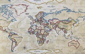 Prestigious atlas antique world map country taupe oilcloth pvc prestigious atlas antique world map country taupe oilcloth gumiabroncs Choice Image