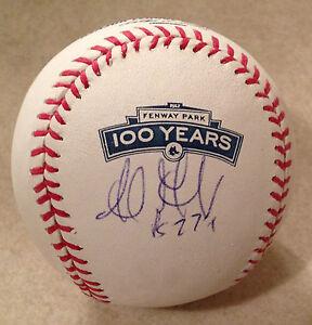 Boston-Red-Sox-ADRIAN-GONZALEZ-Signed-100-Years-FENWAY-PARK-OML-Baseball