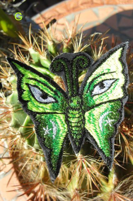 AUFNÄHER PATCH goa psy hippie Schmetterling Butterfly elfe fee Esoterik inde UV