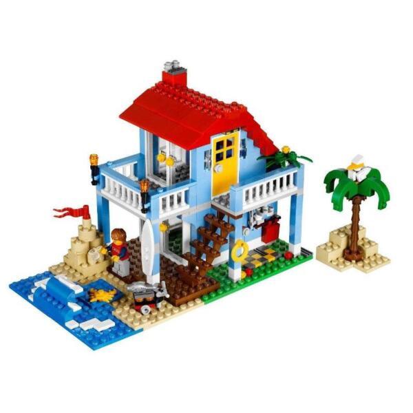 lego creator seaside house 7346 achetez sur ebay. Black Bedroom Furniture Sets. Home Design Ideas