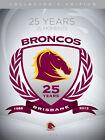 NRL - Brisbane Broncos 25 Years 25 Moments (DVD, 2013, 4-Disc Set)