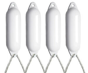 4-X-MAJONI-WHITE-BOAT-FENDERS-INFLATED-SIZE1-FREE-ROPE