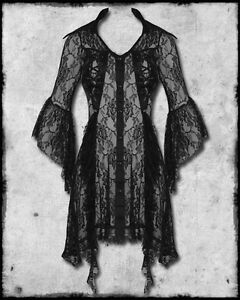 banned clothing black lace ophelia goth steampunk