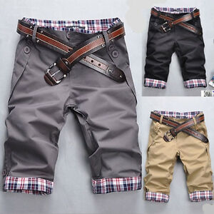 Men-039-s-hot-sell-summer-modern-style-casual-shorts-pants-E606-3color-4size