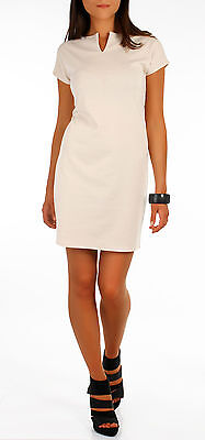Women's Elegant Dress Evening Party Tunic Style Cap Sleeve Size 8-14 FA26
