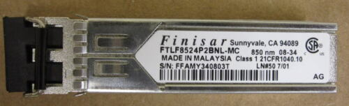 FINISAR FTLF8524P2BNL-MC FTLF-8524-P2BNL 4GB FC 850nm LC SFP 200xAvailable