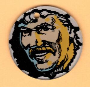PINBALL-MAGIC-Promo-Plastic-GREAT-HANSEN-Key-Chain-FOB-3-CAPCOM-1995-MINT