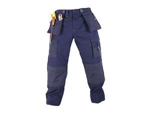 MAK-Workwear-Heavy-Duty-RIPSTOP-Pant-Size-30-44-Navy-Work-Cargo-NEW