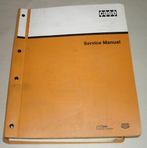 J-I-CASE-SERVICE-MANUAL-MODEL-170C-EXCAVATOR-w-DEUTZ-B-FL-413R-FR-FRW-ENGINE
