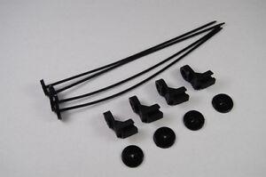 Electric-Fan-Mounting-Kit-Oil-Cooler-Transmission-Cooler-Radiator-Tie-Straps