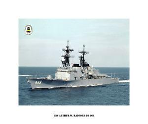 USS-ARTHUR-W-RADFORD-DD-968-US-Naval-Destroyer-USN-Navy-Ship-Print