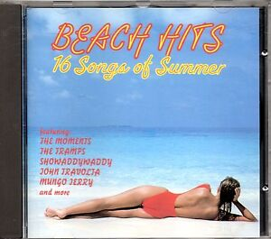THE-MOMENTS-The-Tramps-JOHN-TRAVOLTA-Showaddywaddy-MUNGO-JERRY-CD-BEACH-HITS
