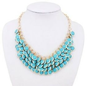 2012-Top-new-Fashion-Nice-Vintage-Gem-Bead-Sexy-Bib-Choker-Necklace-Hot-charm