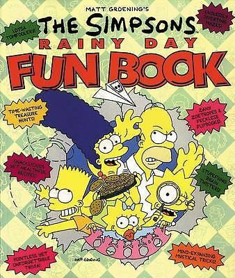 Matt Groening's the Simpsons rainy day fun book by Matt Groening