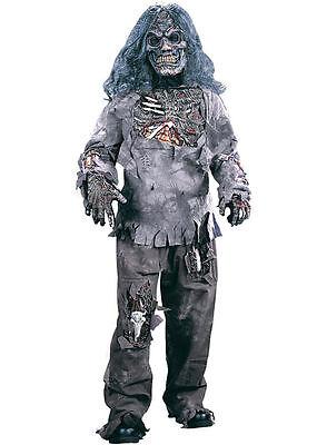 Zombie Halloween Kostüm für Kinder Horror Kinderkostüm Zombiekostüm