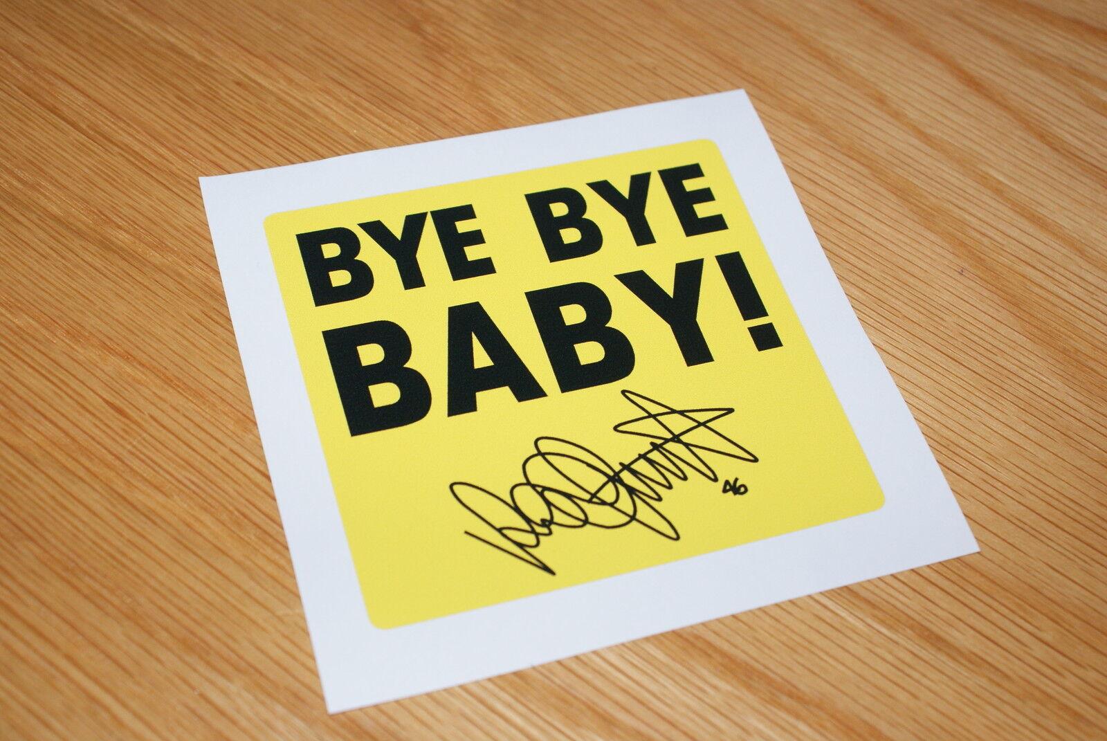 Rossi Bye Bye Baby Sticker Ebay