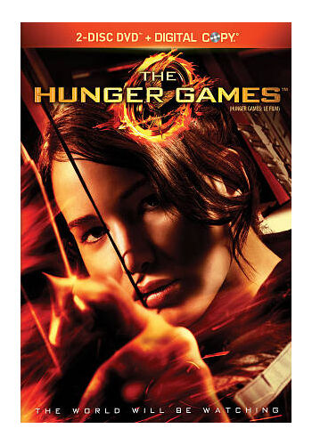 The Hunger Games DVD, 2012, 2-Disc Set  new factory sealed with slipcover
